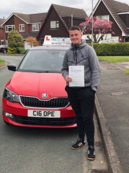 A big congratulations to Connah Mclean , who has passed his driving test today at Cobridge Driving Test Centre.<br /> <br /> First attempt and with just 3 driver faults.<br /> <br /> Well done Connah - safe driving from all at Craig Polles Instructor Training and Driving School. 😀🚗<br /> <br /> Instructor-Stephen Cope