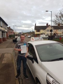 A big congratulations to Daniel Wood, who has passed his driving test today at Cobridge Driving Test Centre, with just 4 driver faults.<br /> Well done Daniel - safe driving from all at Craig Polles Instructor Training and Driving School. 🚗😀