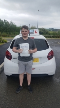 A big congratulations to Declan Pugh, who has passed his driving test at Cobridge Driving Test Centre, at his First attempt and with just 4 driver faults.<br />