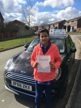 A big congratulations to Deepa Devassy, who has passed her driving test today at Buxton Driving Test Centre, with just 2 driver faults.<br /> Well done Deepa - safe driving from all at Craig Polles Instructor Training and Driving School. 😀🚗<br /> Instructor- Ashlee Kurian