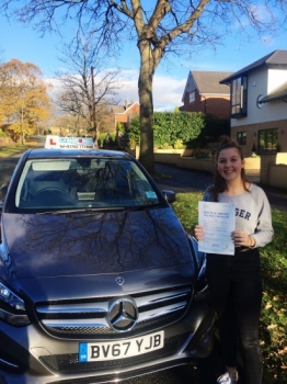 A big congratulations to Ella Phoenix, who has passed her driving test today at Newcastle Driving Test Centre, at her First attempt and with just 3 driver faults.<br /> <br /> Well done Ella - safe driving from all at Craig Polles Instructor Training and Driving School. 🚗:)