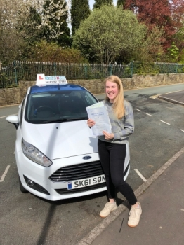 A big congratulations to Emily Edwards, who has passed her driving test today at Newcastle Driving Test Centre.<br /> <br /> First attempt and with just 6 driver faults.<br /> <br /> Well done Emily - safe driving from all at Craig Polles Instructor Training and Driving School. 😀🚗<br /> <br /> Instructor-Sara Skelson