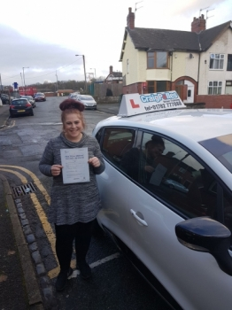 A big congratulations to Emma Ray, who has passed her driving test at Cobridge Driving Test Centre, with just 5 driver faults.<br /> Well done Emma - safe driving from all at Craig Polles Instructor Training and Driving School. 🚗😀