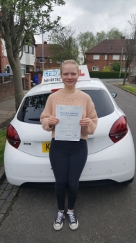 A big congratulations to Evie Earls-Davis, who has passed her driving test today at Newcastle Driving Test Centre.<br /> <br /> First attempt and with just 1 driver fault.<br /> <br /> Well done Evie - safe driving from all at Craig Polles Instructor Training and Driving School. 😀🚗<br /> <br /> Instructor-Dave Wilshaw