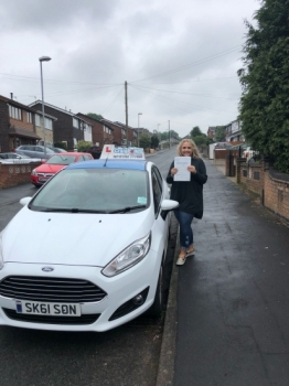 A big congratulations to Georgia Cartridge, who has passed her driving test at Newcastle Driving Test Centre with 0 driver faults.<br /> Well done Georgia - safe driving from all at Craig Polles Instructor Training and Driving School. :)<br /> Instructor-Sara Skelson