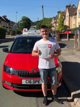 A big congratulations to Isaac Vickers, who has passed his driving test toady at Cobridge Driving Test Centre.<br /> First attempt and with just 3 driver faults.<br /> Well done Isaac - safe driving from all at Craig Polles Instructor Training and Driving School. :)<br /> Instructor-Stephen Cope