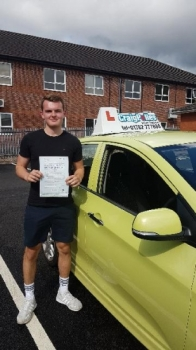 A big congratulations to Jack Gibson. Jack passed his driving test today, at Newcastle Driving Test Centre with just 2 driver faults.<br />