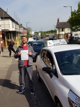 A big congratulations to Jack Keeling, who has passed his driving test today at Cobridge Driving Test Centre.<br />