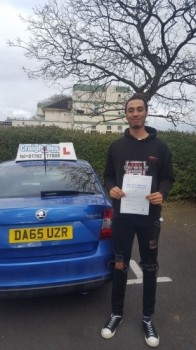A big congratulations to Jacob Mcavoy, who has passed his driving test at Cobridge Driving Test Centre, at his First attempt and with just 4 driver faults.<br />