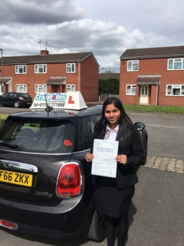 A big congratulations to Janeeta Rose Thomas, who has passed her driving test today at Newcastle Driving Test Centre, with just 3 driver faults.<br /> <br /> Well done Janeeta - safe driving from all at Craig Polles Instructor Training and Driving School. 😀🚗<br /> <br /> Instructor-Ashlee Kurian