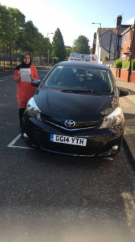 A big congratulations to Janis Hanif, who has passed her driving test today at Cobridge Driving Test Centre, with just 4 driver faults.<br /> Well done Janis- safe driving from all at Craig Polles Instructor Training and Driving School. 🙂<br /> Instructor-Saiqa Nawaz