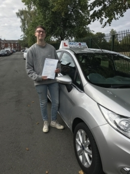 A big congratulations to Jasmin Lovatt, who has passed her driving test today at Crewe Driving Test Centre, <br />