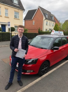 A big congratulations to Jim Moston, who has passed his driving test today at Cobridge Driving Test Centre, with just 1 driver fault.<br />