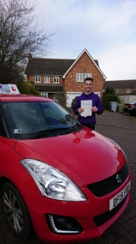 A big congratulations to Joe Speakman, who has passed his driving test today in blizzard conditions at Crewe Driving Test Centre, at his First attempt and with just 3 driver faults.<br /> <br /> Well done Joe - safe driving from all at Craig Polles Instructor Training and Driving School. 🚗😀- Instructor John Breeze