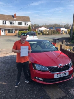 A big congratulations to Jordan Craddock, who has passed his driving test today at Cobridge Driving Test Centre, at his First attempt and with 3 driver faults.<br /> <br /> Well done Jordan - safe driving from all at Craig Polles Instructor Training and Driving School. 😀🚗<br /> <br /> Instructor-Stephen Cope