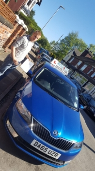 A big congratulations to Karl Oates, who has passed his driving test at Cobridge Driving Test Centre.<br /> First attempt and with just 2 driver faults.<br /> Well done Karl - safe driving from all at Craig Polles Instructor Training and Driving School. 😀🚗<br /> Instructor-Jamie Lees