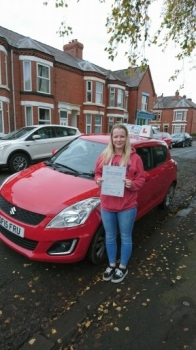 A big congratulations to Kerri-Anne Williams, who passed her driving test today at Crewe Driving Test Centre, first time and with just 4 driver faults.<br /> Well done - safe driving from all at Craig Polles Instructor Training and Driving School. 🚗😀