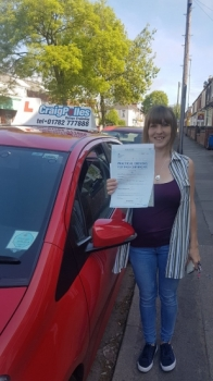 A big congratulations to Kerry Spicer, who has passed her driving test at Newcastle Driving Test Centre.<br /> First attempt and with just 3 driver faults.<br /> Well done Kerry - safe driving from all at Craig Polles Instructor Training and Driving School. 😀🚗<br /> Instructor-Perry Warburton