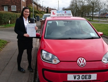 A big congratulations to Leigh Arellano, who has passed her driving test today at Newcastle Driving Test Centre, with just 5 driver faults.<br /> Well done Leigh - safe driving from all at Craig Polles Instructor Training and Driving School. 😀🚗<br /> Instructor Debbie Griffin