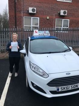 A big congratulations to Lucy Bould, who has passed her driving test today at Newcastle Driving Test Centre, with 7 driver faults.<br /> Well done Lucy - safe driving from all at Craig Polles Instructor Training and Driving School. 🚗😀