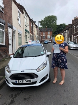 A big congratulations to Maisy Chidlow, who has passed her driving test at Newcastle Driving Test Centre with just 6 driver faults.<br />
