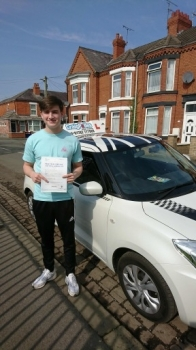 A big congratulations to Marcus Dockery, who has passed his driving test at Crewe Driving Test Centre, at his First attempt and with 3 driver faults.<br />