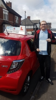 A big congratulations to Matthew Teague, who has passed his driving test at Newcastle Driving Test Centre with just 5 driver faults.<br />