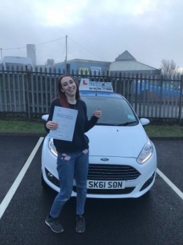A big congratulations to Megan Wilkinson, who has passed her driving test at Newcastle Driving Test Centre, at her First attempt and with just 5 driver faults.<br /> Well done Megan - safe driving from all at Craig Polles Instructor Training and Driving School. 🚗😀