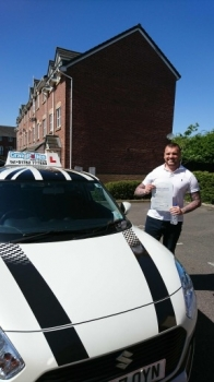 A big congratulations to Michael Gillick, who has passed his driving test today at Crewe Driving Test Centre, with 9 driver faults.<br /> Well done Michael - safe driving from all at Craig Polles Instructor Training and Driving School. 😀<br /> Instructor-John Breeze