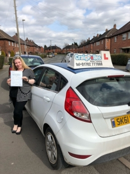 A big congratulations to Michelle Hampton, who has passed her driving test at Newcastle Driving Test Centre, at her First attempt and with just 4 driver faults.<br /> <br /> Well done Michelle - safe driving from all at Craig Polles Instructor Training and Driving School. 😀🚗<br /> <br /> Instructor-Sara Skelson