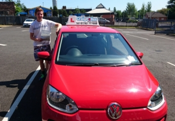 A big congratulations to Mick Owen, who has passed his driving test toady at Newcastle Driving Test Centre.<br /> First attempt and with just 2 driver faults.<br /> Well done Mick - safe driving from all at Craig Polles Instructor Training and Driving School. :)<br /> Instructor-Debbie Griffin