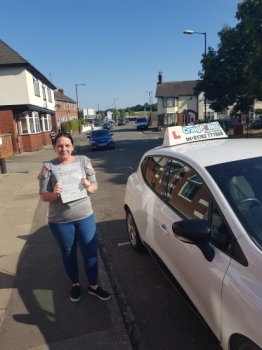 A big congratulations to Monica Graham, who has passed her driving test today at Cobridge Driving Test Centre, with just 2 driver faults.<br /> Well done Monica- safe driving from all at Craig Polles Instructor Training and Driving School. :)<br /> Instructor-Greg Tatler