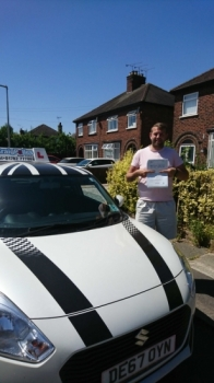 A big congratulations to Nathan Guildford, who has passed his driving test today at Crewe Driving Test Centre.<br /> First attempt and with just 4 driver faults.<br /> Well done Nathan- safe driving from all at Craig Polles Instructor Training and Driving School. 🙂<br /> Instructor-John Breeze