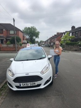 A big congratulations to Emily Hagan, who has passed her driving test today at Newcastle Driving Test Centre.<br /> First attempt and with just 5 driver faults.<br /> Well done Emily - safe driving from all at Craig Polles Instructor Training and Driving School. :)<br /> Instructor-Sara Skelson