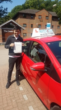 A big congratulations to Hassan Hany, who has passed his driving test at Newcastle Driving Test Centre with 0 driver faults.<br />
