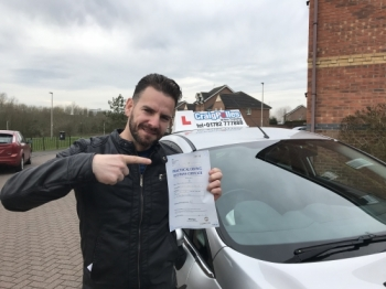 A big congratulations to Pablo, who has passed his driving test at Crewe Driving Test Centre, with just 3 driver faults.<br /> Well done Pablo - safe driving from all at Craig Polles Instructor Training and Driving School. 😀🚗<br /> Instructor-Samsul Islam