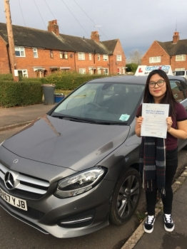 A big congratulations to Rebecca Yu. Rebecca passed her driving test today, at Newcastle Driving Test Centre and with just 3 driver faults.<br /> Well done Rebecca - safe driving from all at Craig Polles Instructor Training and Driving School. 🚗😀