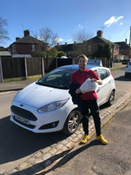 A big congratulations to Reece Palmer, who has passed his driving test today at Newcastle Driving Test Centre, at his First attempt and with just 4 driver faults.<br /> <br /> Well done Reece - safe driving from all at Craig Polles Instructor Training and Driving School. 😀🚗<br /> <br /> Instructor Sara Skelson.