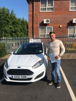 A big congratulations to Sam Heatley, who has passed his driving test today at Newcastle Driving Test Centre.<br />