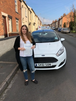 A big congratulations to Samantha Shaw, who has passed her driving test today at Newcastle Driving Test Centre, with just 4 driver faults.<br /> Well done Samantha - safe driving from all at Craig Polles Instructor Training and Driving School. 🚗😀- Sara Skelson