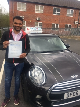A big congratulations to Sooraj Gopalan, who has passed his driving test today at Newcastle Driving Test Centre, with 7 driver faults.<br /> <br /> Well done Sooraj - safe driving from all at Craig Polles Instructor Training and Driving School. 😀🚗<br /> <br /> Instructor-Ashlee Kurian