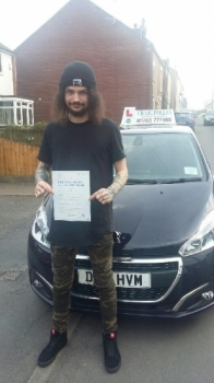 A big congratulations to Terry Kane, who has passed his driving test today at Newcastle Driving Test Centre, at his First attempt and with 7 driver faults.<br /> <br /> Well done Terry - safe driving from all at Craig Polles Instructor Training and Driving School. 😀🚗<br /> <br /> Instructor-Mark Ashley