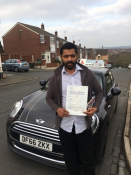 A big congratulations to Thomas Philip, who has passed his driving test today at Newcastle Driving Test Centre, with just 5 driver faults.<br /> <br /> Well done Thomas - safe driving from all at Craig Polles Instructor Training and Driving School. 🚗😀