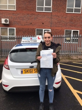 A big congratulations to Tiffany Bereton, who has passed her driving test today at Newcastle Driving Test Centre, at her First attempt.<br /> <br /> Well done Tiffany - safe driving from all at Craig Polles Instructor Training and Driving School. 🚗😀