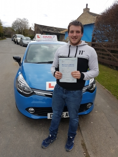 Brilliant 1st time pass well done