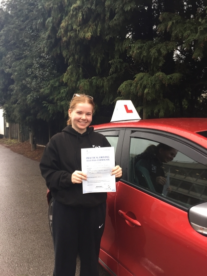 Well done Darcy 1st time pass 2days after second lockdown!