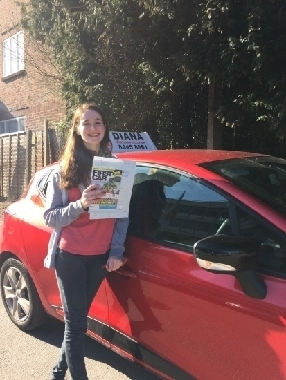 I found Diana to be a great teacher who helped turn me from a nervous driver into a confident one Her teaching style is different from other driving instructors allowing you to become a driver who is confident in their ability to drive