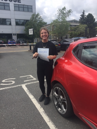Well done Abbie 0 minors 👍