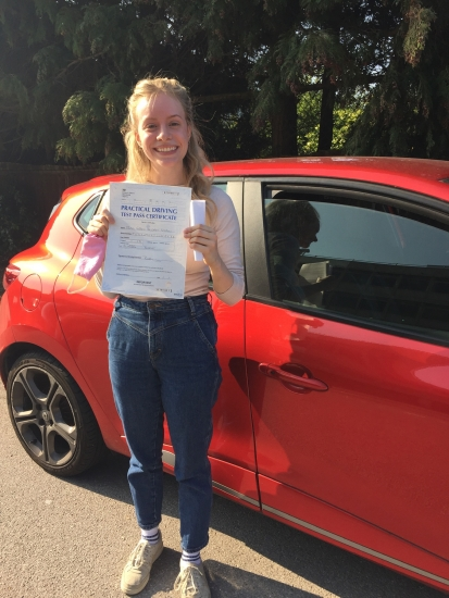 Well done Grace so proud of your achievement <br /> <br /> 'Thank you so much, Diana, for being an amazing teacher, I couldn´t have done it without you and will miss our lessons! Would highly recommend Diana to everyone!' xx