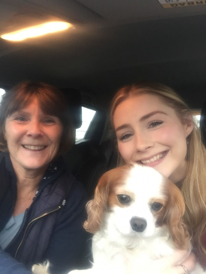 Well done Becky-a brilliant drive only 3 minors in Barnet <br />